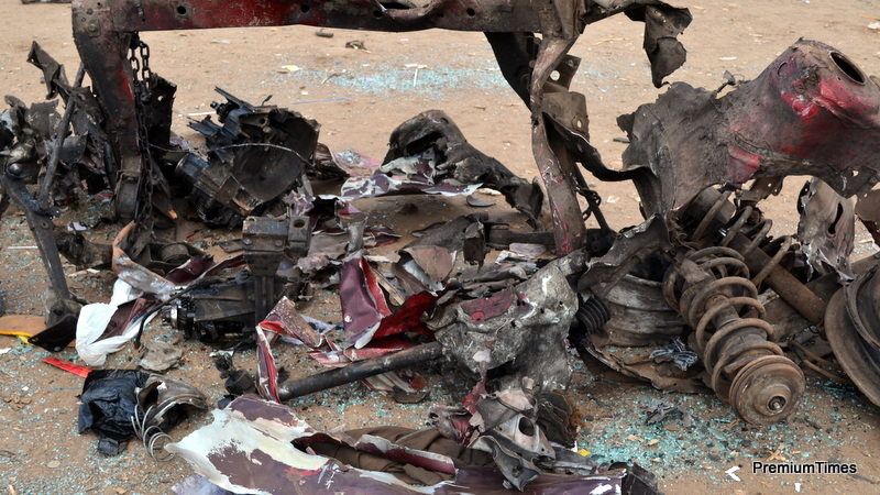 abuja explosion update bomb hidden  volkswagen golf vehicle witness  premium times
