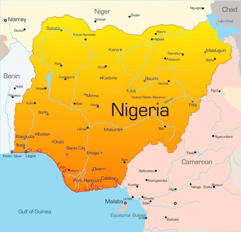 Nigeria Map Premium Times Nigeria - Nigeria map