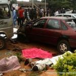 Scene of the Kaduna bomb blast