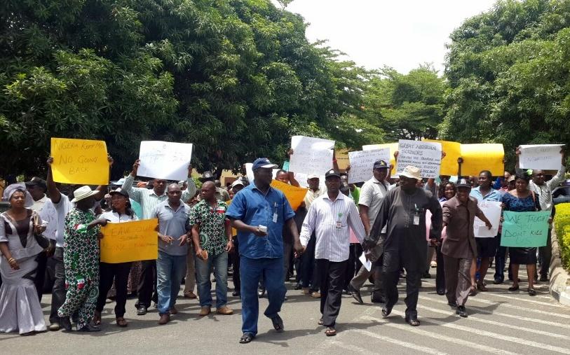 Teachers' Protest