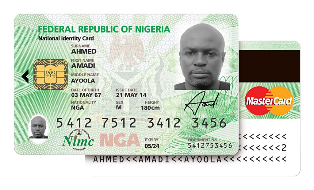 National Card Launched In Nigeria Eid Mastercard-branded
