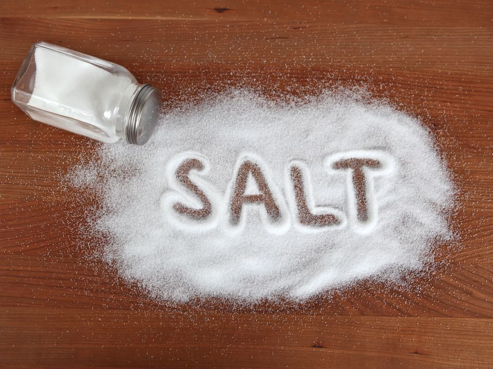 WHO on Saturday, said most people still consumed too much salt.