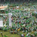 Despite Ebola warning, Jonathan's re-election rally to continue in Port Harcourt