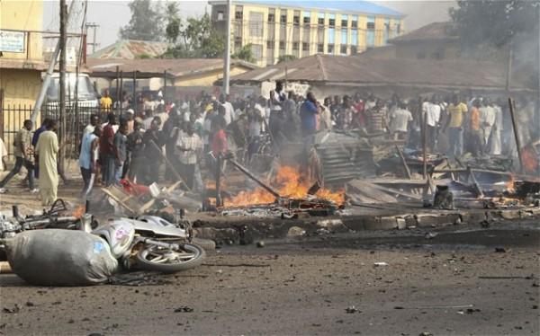 Multiple bomb blasts kill 56, injure 177 in Adamawa