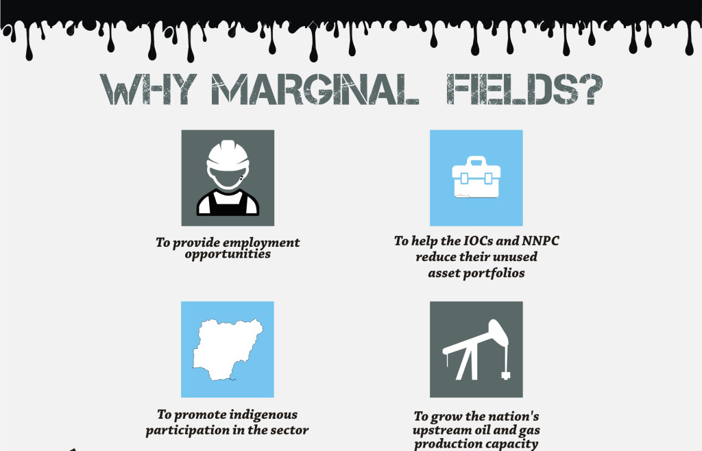what are marginal fields The first marginal field to be awarded in the country was the ogbelle field allocated to the niger delta petroleum resources limited in 1999 to promote indigenous participation and build local.