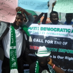 Hundreds hold rally in Delta to protest mass unemployment in Nigeria