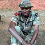 A fake Major in the Nigerian Army, Afolabi Hassan