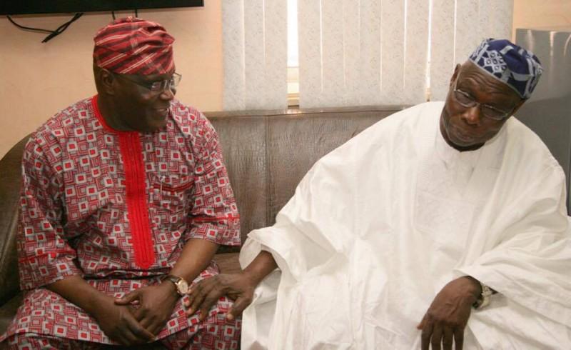 Image result for atiku and obasanjo