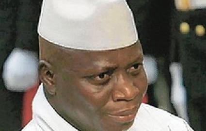 Gambian President_Yahya_Jammeh