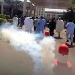 A teargassed National Assembly