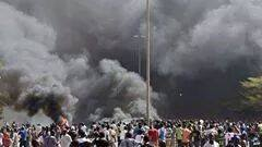 File Photo: Scene of a past explosion in Kano