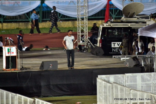 9ice performing at APC National Convention