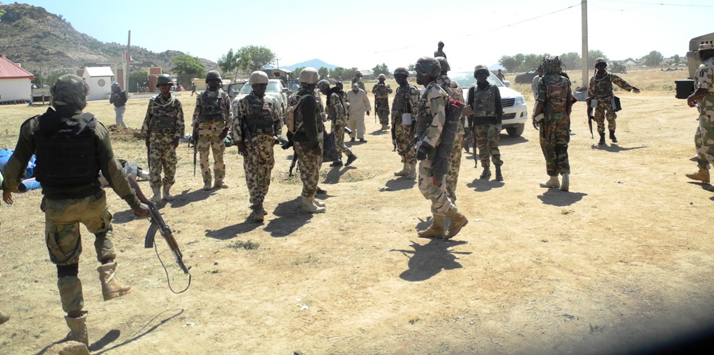 Image result for Nigerian Army distributes learning materials in Adamawa