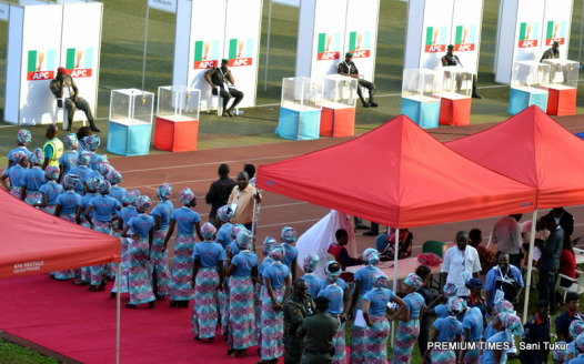 apc presidential primaries - ushers entering