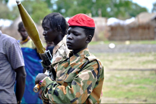 3,000 child soldiers in South Sudan released
