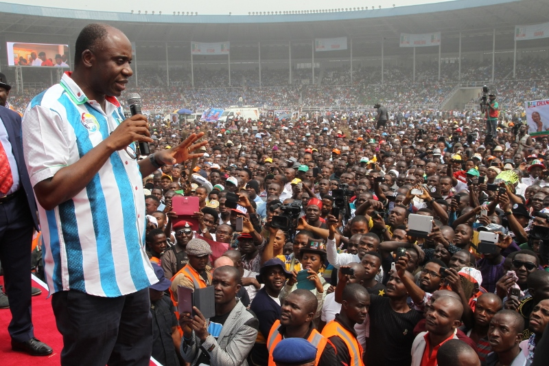 Image result for apc and pdp protest in port harcourt