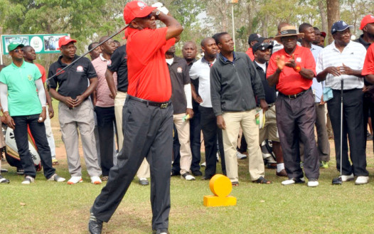 Nigeria's Senate President, David Mark, loves to play Golf. He owns a Golf Course in his home town , Otukpo, Benue state.