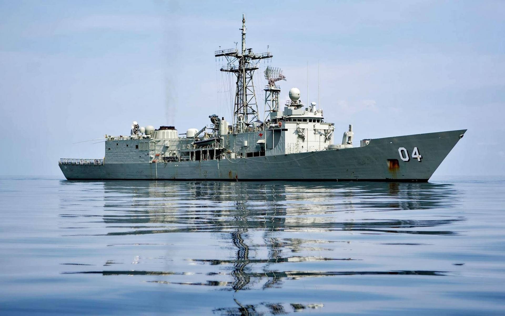 nigerian navy takes delivery of new warship donated by