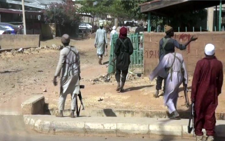 Suspected members of the dreaded Islamic sect, Boko Haram struck again, leaving at least 8 people dead outside a church in northeastern Borno state