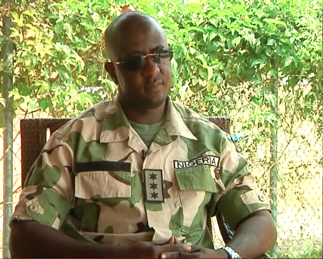 FILE PHOTO: Whistleblower who leaked Ekiti vote-rigging tape, Army Captain Sagir Koli