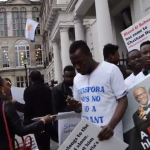 Buhari's supporters, Jonathan's sympathisers clash in London