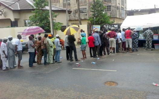 Alausa, Lagos rain