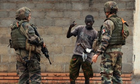 French soldiers involved in abuse of boys