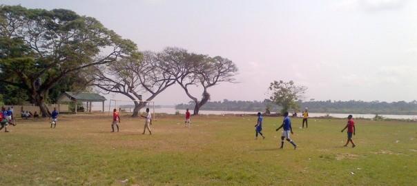 Football field in Odi