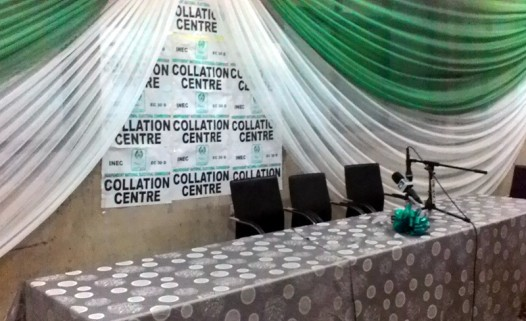 INEC Collation Centre in Lagos
