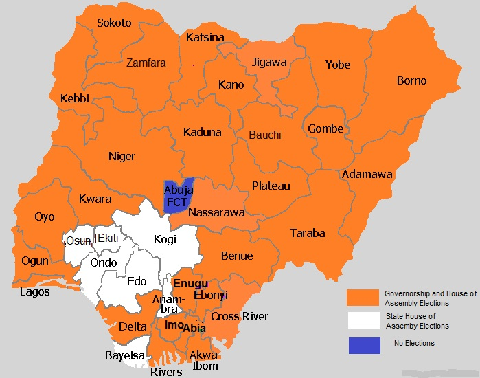 Work From Home In Nigeria 2015 General Election Electoral Map - 2015-us-election-results-map