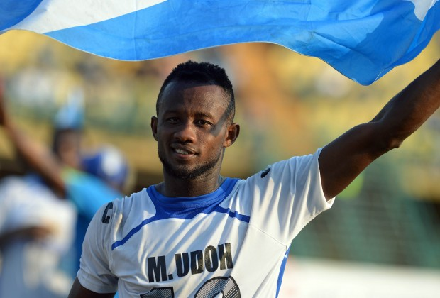 NPFL UPDATE: Udoh Named Captain Of Enyimba FC