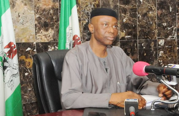 Governor Olusegun Mimiko of Ondo State, chairman of PDP governors forum