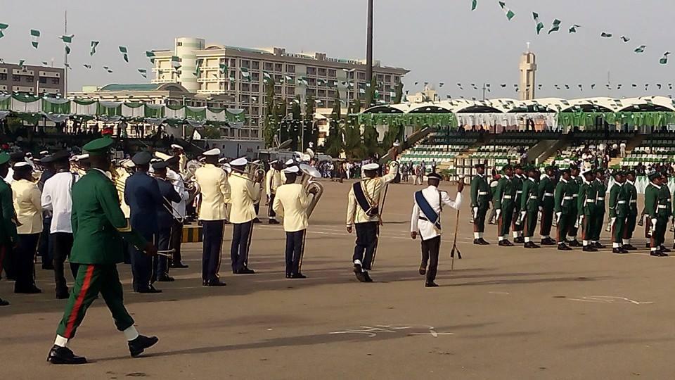Buhari inuaguration parade