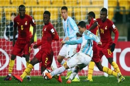 Ghana Vs Argentina.  Photo Credit: fifa.com