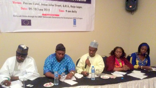 UNDP DGD 2015 election media review