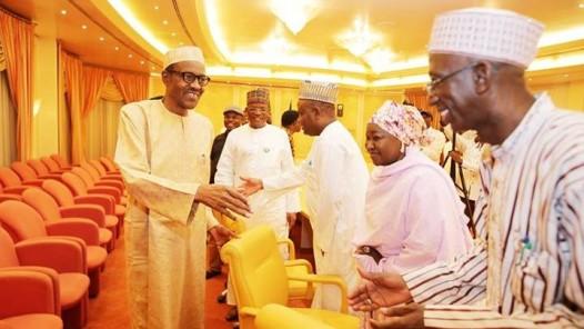Buhari meets house of reps5