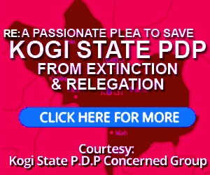 Kogi State PDP Plea to Idris Wada