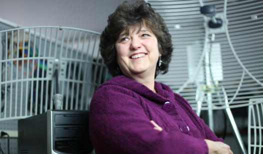 Susan Corbett, CEO of Axiom Technologies in Machias.   Provided photo