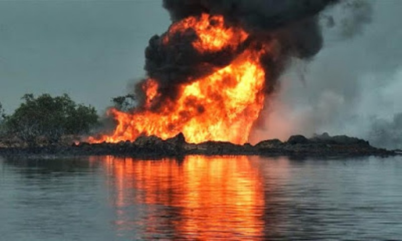 "N/Delta Militants ""Dead Morrows Marine"" Launches Attack On Afam Shell Pipeline....Demands The Release Of Nnamdi Kanu"