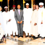 PIC.10.POLIO HIGH LEVEL ADVOCACY TEAM AFTER MEETING WITH PRESIDENT MUHAMMADU   BUHARI AT THE PRESIDENTIAL VILLA IN ABUJA ON MONDAY (31/8/15). 6292/31/8/2015/ICE/CH/NAN