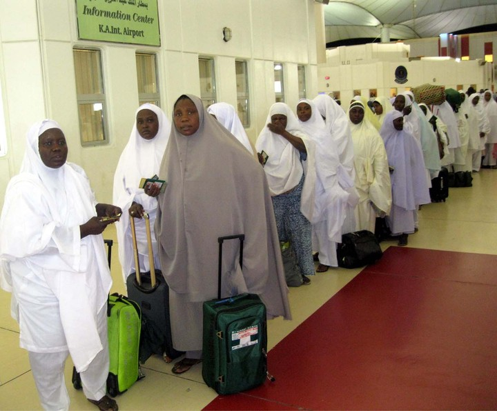 Image result for images of nigerian pilgrims in saudi arabia