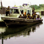 PIC.11.NIGERIAN NAVY SHIP ON OPERATION IN DELTA