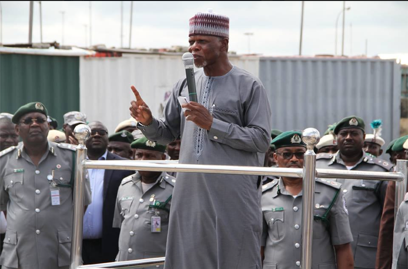 Nigeria Customs in Seme has collected a whopping N1.5b as revenue in the month of December, 2016; enforces ban on vehicle imports through land borders