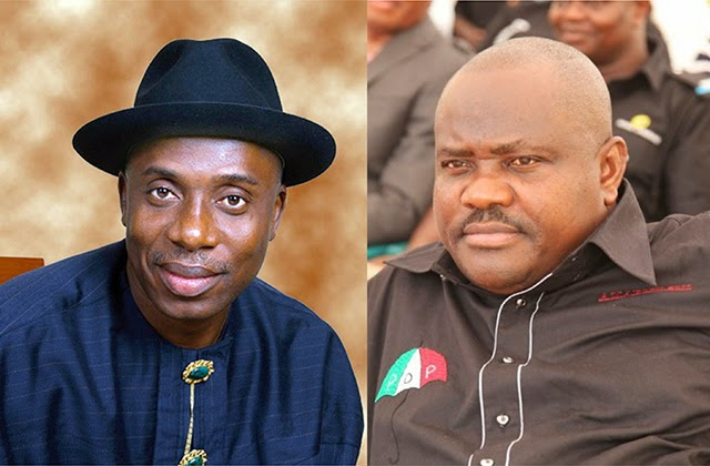 Image result for wike and amaechi