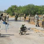 Nigeria Army remove mines