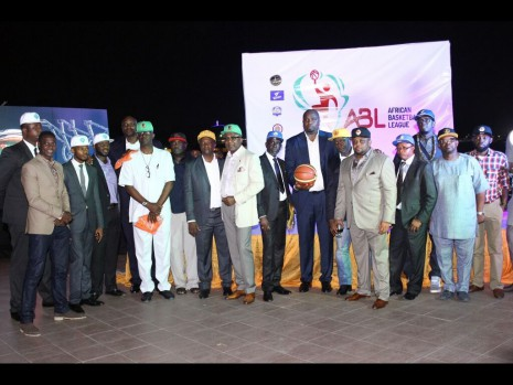 ABL CEO, Ugo Udezue pictured with partners