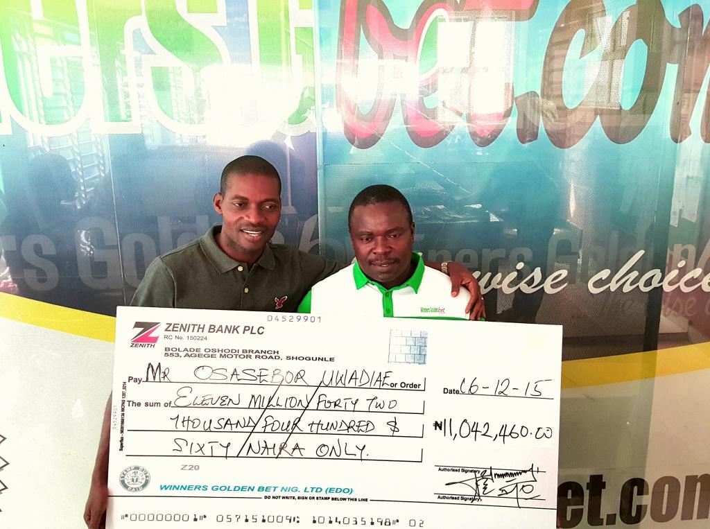 Winners bet nigeria