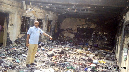 Fire incidence at Don Bosco Secondary School and Youths Centre in Onitsha