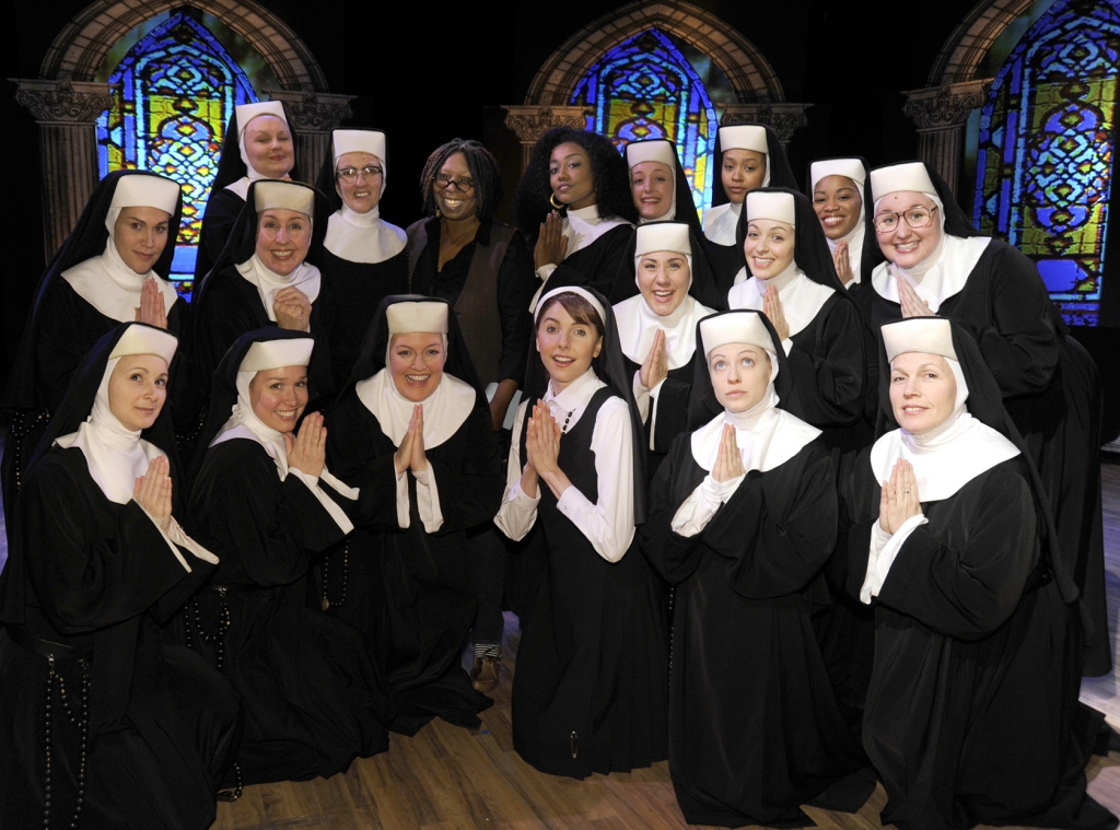 The American cast of Sister Act