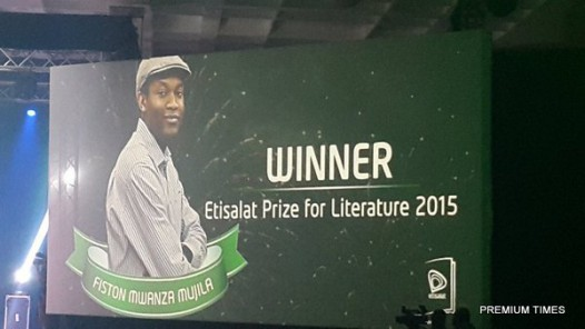 Fiston Mujila_winner of Etisalat Prize for Literature  2015